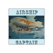 """Airship Eagle Square Sticker 3"""" x 3"""""""