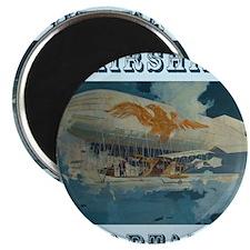 Airship Eagle Magnet