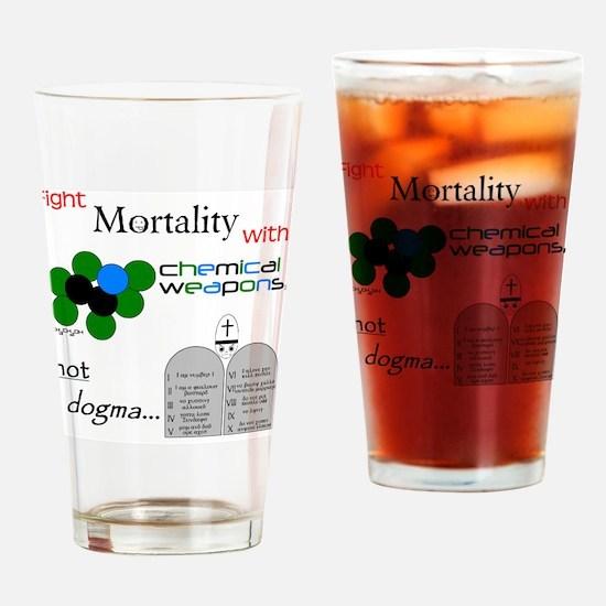 Mortality2 Drinking Glass