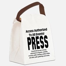 press_pass Canvas Lunch Bag