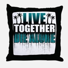 live-together-island-tl-hl- Throw Pillow