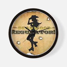 Reg Large Logo Wall Clock