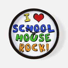 schoolhouserock Wall Clock