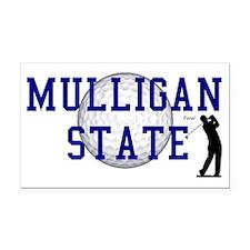 MULLIGAN STATE a Rectangle Car Magnet
