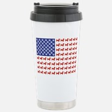 DOXIE-FLAG-Tee Travel Mug