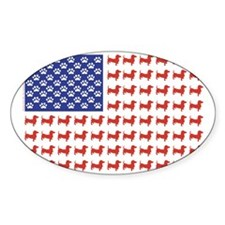 DOXIE-FLAG-Tee Decal