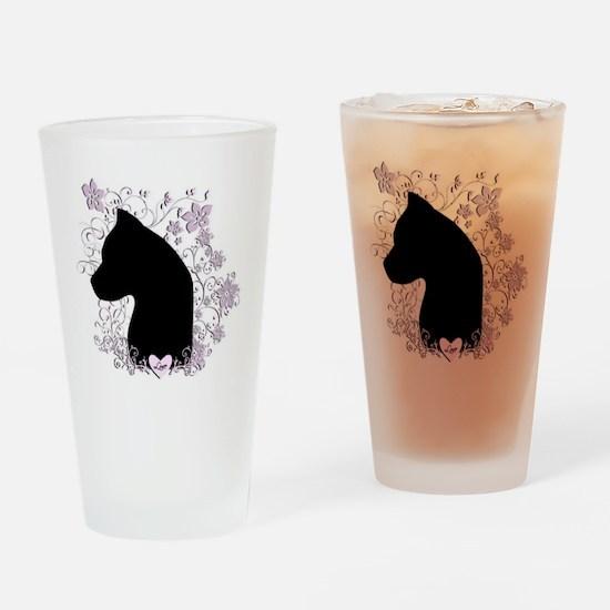 3-Love Drinking Glass