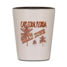 Cape Coral Dead Zone Shot Glass