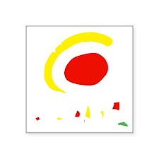 """espana(blk) Square Sticker 3"""" x 3"""""""