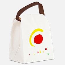 espana(blk) Canvas Lunch Bag