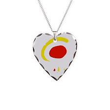 espana(blk) Necklace Heart Charm