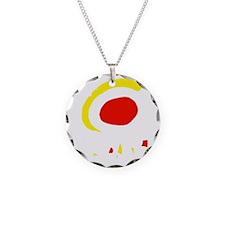 espana(blk) Necklace Circle Charm