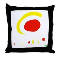 espana(blk) Throw Pillow