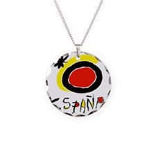 espana Necklace Circle Charm