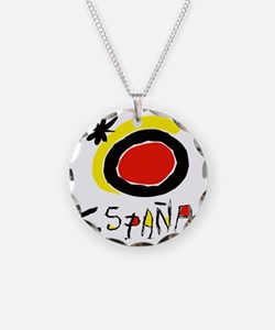 espana Necklace Circle Charm