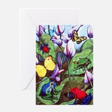 Frogs Greeting Card