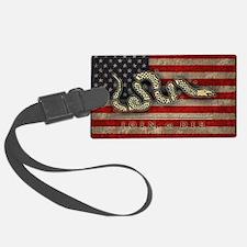 flag1-snake-die-BUT Luggage Tag