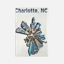 charlotte nc Rectangle Magnet