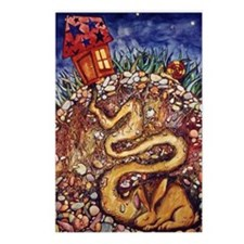 Rabbit at Night Postcards (Package of 8)