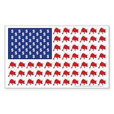 Bull-Flag Decal
