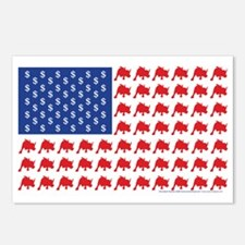 Bull-Flag Postcards (Package of 8)