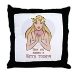 Have you hugged a Witch today Throw Pillow