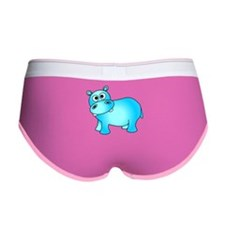 Cute Pink Baby Hippo Women's Boy Brief