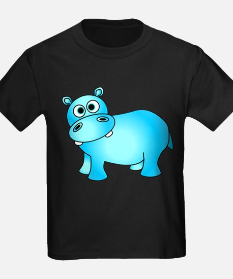 Cute Pink Baby Hippo T