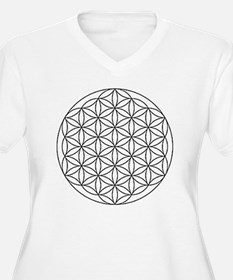Flower-of-Life-wh T-Shirt