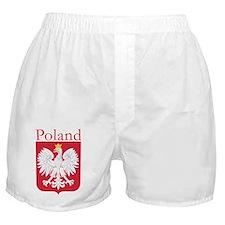Poland Shirt Boxer Shorts