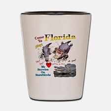 Florida Gators Shot Glass
