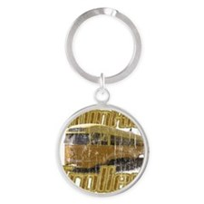 Twinkie Trolley t-shirt Round Keychain