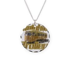 Twinkie Trolley t-shirt Necklace