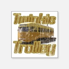 "Twinkie Trolley t-shirt Square Sticker 3"" x 3"""