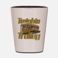 Twinkie Trolley t-shirt Shot Glass
