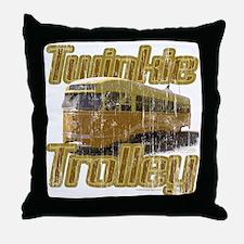 Twinkie Trolley t-shirt Throw Pillow