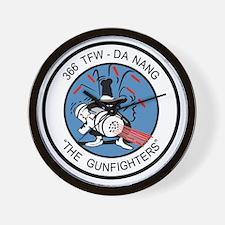 366_tfw_gun_fighter Wall Clock