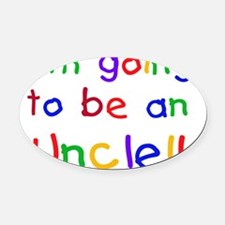 CPPRIMARYUNCLE Oval Car Magnet