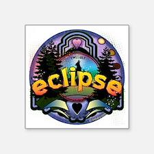 "Eclipse Magic Forest by Twi Square Sticker 3"" x 3"""