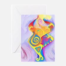 Dancing Goddess Greeting Card