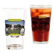 Gettysburg-Bloody Wheatfield Drinking Glass