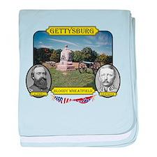 Gettysburg-Bloody Wheatfield baby blanket