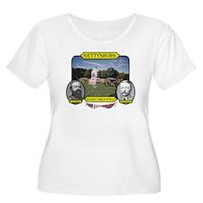 Gettysburg-Bloody Wheatfield Plus Size T-Shirt