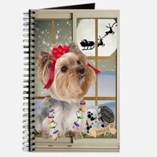 Yorkie Treats For Santa Journal