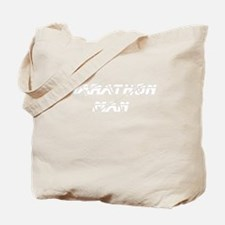 2-MarathonManTileReflection_White Tote Bag