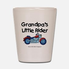 grandpas-little-rider Shot Glass