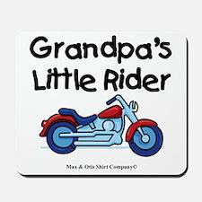 grandpas-little-rider Mousepad