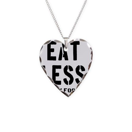 eatless_junkfood Necklace Heart Charm