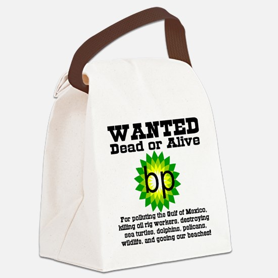 BP_Wanted_poster Canvas Lunch Bag