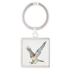 Striking Red-Tail Hawk Keychains